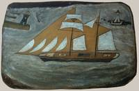 Alfred Wallis Art Framed Print
