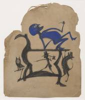 Bill Traylor Art Framed Print