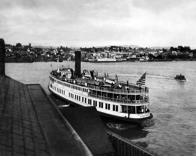 Vallejo Napa ferry c1900