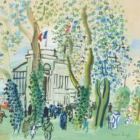 """Raoul Dufy Art Framed Print"" by buddakats1"