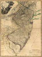 Map of New Jersey (1778)