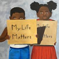 My Life Matters Art Prints & Posters by Donna Blakey