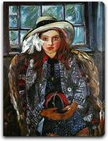 Lovis Corinth Art Framed Print