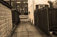 Brooklyn Alley 2001 Sepia
