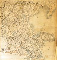 Map of Zhili and Shandong, China (c1855-1870)