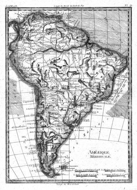 Stunning america map artwork for sale on fine art prints vintage map of south america 1780 bw by alleycatshirts gumiabroncs Gallery