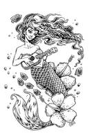 Ukulele Mermaid