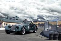 Morgan Vintage Race Car
