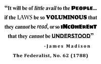 James Madison Quote from The Federalist, No. 62 (1