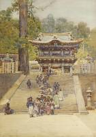 Robert Weir Allan, Yomeiman Gate, Nikko, Japan, 19