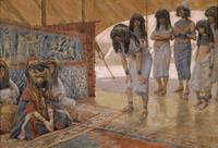 Sarai Is Taken to Pharaoh's Palace by James Tissot