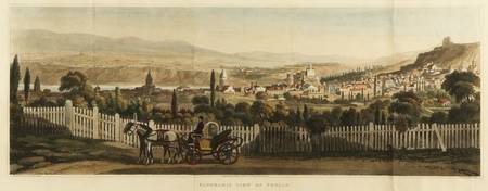 A HAND-COLORED AQUATINT VIEW OF TIFLIS (TBILIS) 18