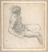 a Seated Youth for the Age of Gold , Pietro da Cor