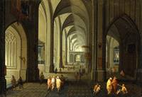 Antoni Smets, Interior of a Church