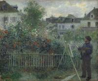 Claude Monet , His Garden at Argenteuil,  1873, Pi