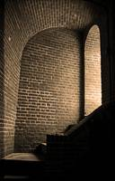 Baltimore - Dark Brick Passageway 2003 Sepia