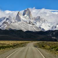 The Road to El Chalten Art Prints & Posters by Rob Kroenert