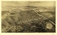 Bird's Eye View of Macon, Georgia (1912)