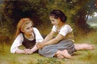 William-Adolphe Bouguereau Art Framed Print