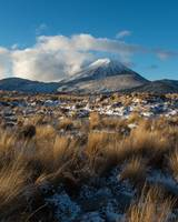 Mt Ngauruhoe Snow Dusting