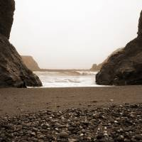 Goat Rock Sonoma Coast 024 - sepia by Richard Thomas