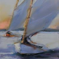Lake Sailing 2 by Beth Charles