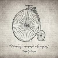 Melancholy is Incompatible with Bicycling