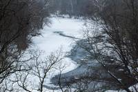 Darby Creek in Winter, Ohio
