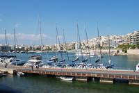 The Zea Marina in Athens, Greece