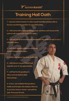 Seichou Karatedo Training Hall Oath