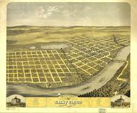 Bird's Eye View of Saint acCloud, Minnesota (1869)