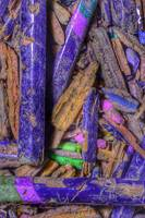 Crushed Art Pencils Colour-Field, No-1, Edit C