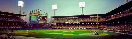 Comiskey Park third and home