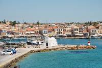 Aegina Town harbour, Greece