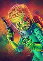 The Martian - Mars Attacks