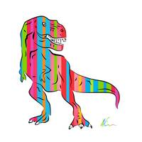 T-Rex - Pop Art