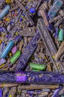 Crushed Art Pencils Colour-Field, No-2, Edit D