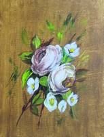 Floral Roses Painting