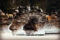 Lake Superior Ice Formations