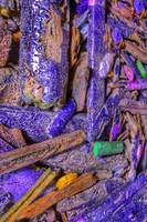 Crushed Art Pencils Colour-Field, No-6, Edit E