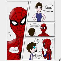 SPIDEY HAS AN IDEA..