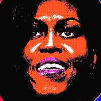 """MICHELLE OBAMA"" by thegriffinpassant"