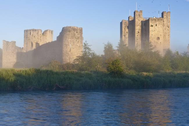 Trim Castle in the Mists of the River Boyne