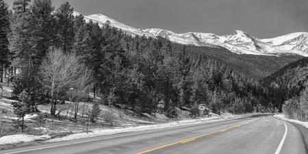 Driving Peak to Peak Panoramic View