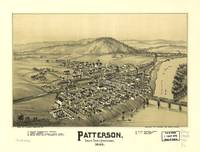 Aerial View of Patterson (Mifflin), Pennsylvania (