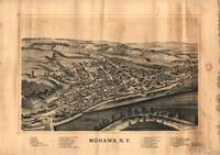 Aerial View of Mohawk, New York (1893)