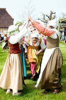 Tudor May Day dancing