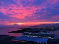 Honolulu Harbour Sunset
