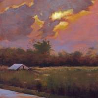 Evening Sun Art Prints & Posters by Christine K. Jones