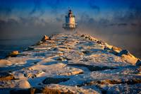 Winter Morning at Spring Point Ledge Lighthouse